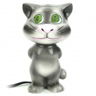 Mini Cat Style USB Music Speaker - Grey