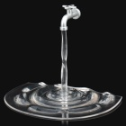 Unique Faucet Holder Flowing Water Stand for iPhone 4 / 4S - Translucent
