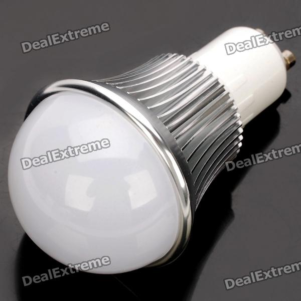 GU10 6W 6500K 540-Lumen 12-LED White Light Bulb (AC 85~265V) gu10 9w 6500k 810 lumen 18 led white light bulb ac 85 265v