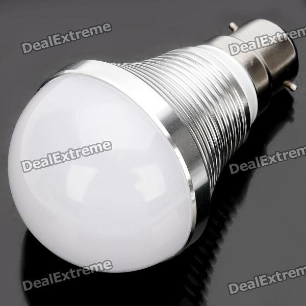 B22 7.5W 675LM 6500K Cold White Light 15-LED Globular Bulb (AC85~265V)