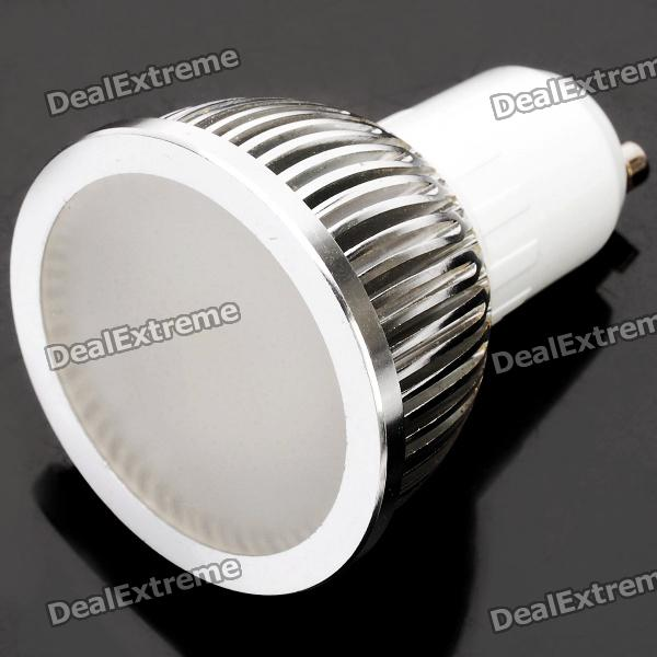 GU10 3W 6500K 275-Lumen 6-LED White Light Bulb (AC 85~265V) gu10 9w 6500k 810 lumen 18 led white light bulb ac 85 265v