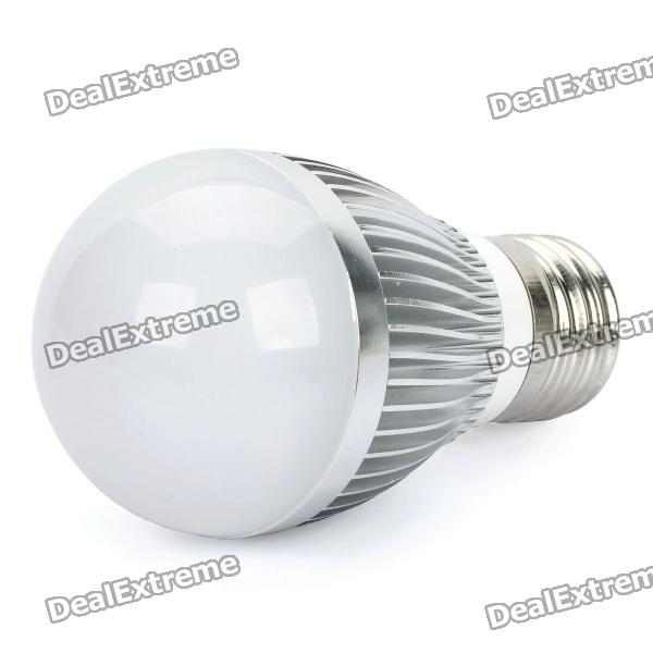 LeXing E27 6W 6500K 540-Lumen 12-LED White Light Bulb (AC 85~265V) e27 6w 6 led 540 lumen 6000k white light bulb 85 265v ac