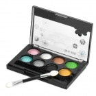 Fashion Cosmetic Makeup 8-Color Eye Shadow Kit with Brush