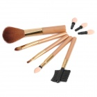 Elegant 5-Piece Cosmetic Make-up Brushes Set