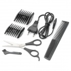 Rechargeable 2W Hair Clipper Trimmer with Accessories Set (AC 220~240V)