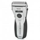 Rechargeable Waterproof Dual-Blade Shaver Razor w/ Trimmer