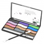 Cosmetic Makeup 12-Color Eye Shadow Kit w/ Blush