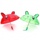Mini Cute Panda Pattern Decorative Umbrella Toys (Pair)