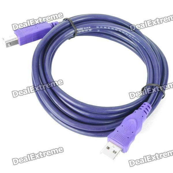 USB Printer Scanner Connection Cable (300cm) usb 2 0 printer scanner connection flat cable blue 145cm