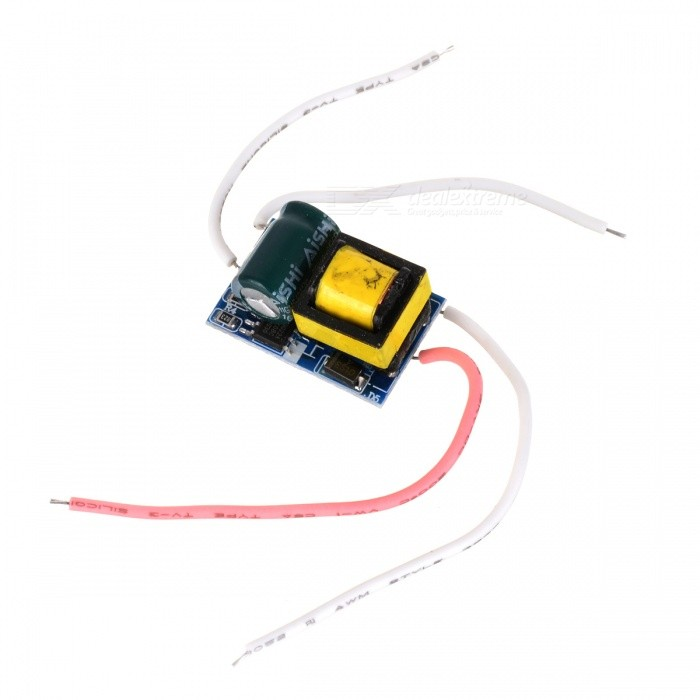 3~5W LED Driver Module (AC 85~265)LED Power Drivers<br>Material:Form  ColorBlackPacking List<br>
