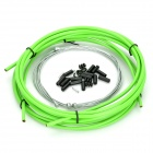 Bicycle Bike Brake Cable Cables Shifter y Escenografía Vivienda - Verde