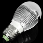E27 3W 6500K 240-Lumen 3-LED White Light Bulb (AC 220V)