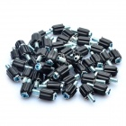 Mountain Bike Manual Gear Shifting Adjustment Screw - Black (50-Piece)