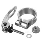 Quarry KC88-31.8 Aluminum Alloy Bicycle Seat Post Clamp - Titanium