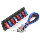 Flip-up 8-Switch Panel for Sport Racing Car (DC 12V)
