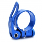 Quarry KC828-34.9 Aluminum Alloy Bicycle Seat Post Clamp - Blue