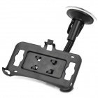 Car Flexible Neck Suction Cup Mount Holder for HTC G21 - Black