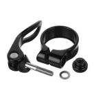 Quarry KC88-31.8 Aluminum Alloy Bicycle Seat Post Clamp - Black