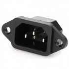AC 250V 10A Flat 3 Pin Plug Power Socket (10-Piece Pack)