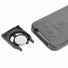 "1.1"" LCD Mini USB Music Speaker w USB/TF Card/FM - Black"
