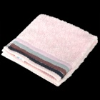 Soft Cotton Square Towel - Pink