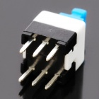 7 x 7mm No Lock Switch - Blue + White + Black (20 Piece Pack)