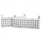 5W 3-Mode 48-LED Yellow Light Car Strobe Lamps (Pair / DC 12V)