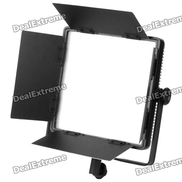36W 5400K 3330LM 600-LED White Light Video Lamp with Filters for Camera/Camcorder 1 4 lcd 6 led white light video lamp for camera camcorder 4 x aa