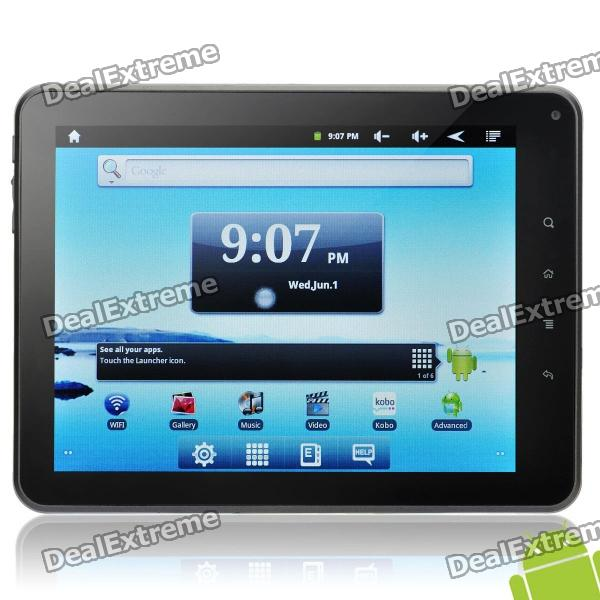 "Nextbook P8 8.0"" Capacitive Screen Android 2.3 Tablet PC w/ WiFi / Camera / TF (Cortex A8 /4GB)"