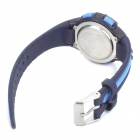Sports Diving Wrist Watch w/ Colorful Backlit / Week / Stopwatch / Alarm Clock - Blue (1 x CR2025)