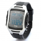 Sports Diving Wrist Watch w/ EL Backlit / Week / Stopwatch / Alarm Clock - Black (1 x CR2025)