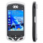 "PS5 GSM TV Game Phone w/ 3.0"" Resistive, Quad Bands, Dual-SIM, GPS, Wi-Fi and FM - Black (4GB TF)"