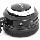 2.4GHz Wireless Headphone with Microphone - Black