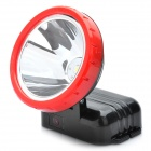 High-power Rechargeable 3-Mode 90LM 1-LED White Light Headlamp w/ 110-220V AC Charger (4500mAh)