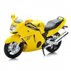 1:12 Honda CBR1100XX Model Motorcycle for Display / Collection - Yellow + Black