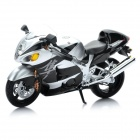 1:12 Suzuki GSX1300R Model Motorcycle for Display / Collection - Black + Silver
