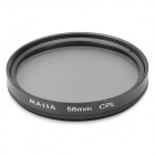 MASSA Multi-Coated CPL Circular Polarizing Lens Filter (58mm)