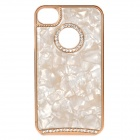 Elegant Crystal PC Back Case for Iphone 4 / 4S - Gold