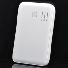Portable 5000mAh Mobile External Power Battery Pack w/ Adapters - White