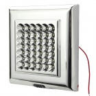 12.6W 3500K 112LM 42-LED Auto Warm White Dome Light Ceiling (DC 12V)