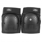 Professional Skateboarding Skiing Knee Guard Pad - Black (Pair/M-Size)