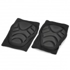 Professional Skating Skiing Knee Pad - Black (Pair/M-Size)
