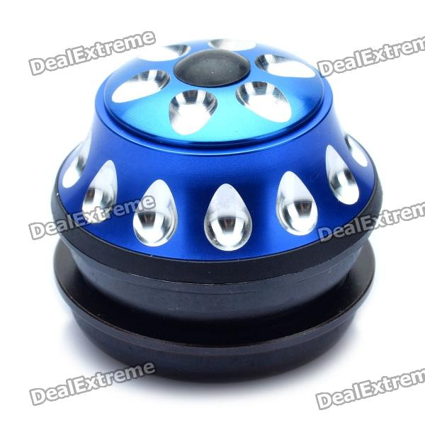 Aluminum Alloy Bicycle Water Drop Headset - Black + Blue