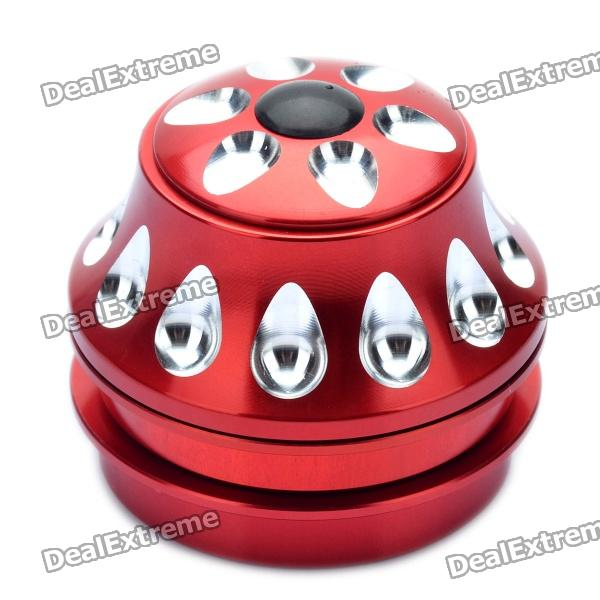 Aluminum Alloy Bicycle Water Drop Headset - Red