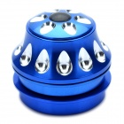 Aluminum Alloy Bicycle Water Drop Headset - Blue