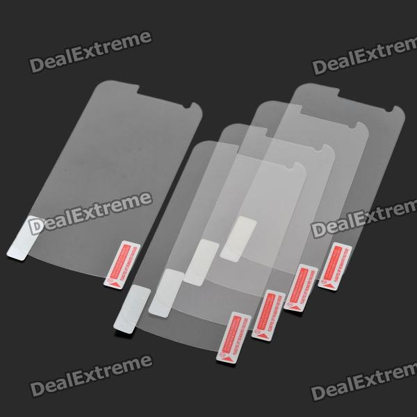 Protective Screen Protector Sticker with Cleaning Cloth for Samsung GALAXY NEXUS/I9250 (5-Piece)
