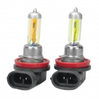 H11 100W 5000K 2200-Lumen Halogen Car Headlamps (DC 12V / Pair)
