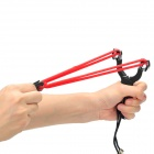 Durable Stainless Steel Hunting Slingshot Catapult w/ 6 Balls