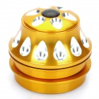 Aluminum Alloy Bicycle Water Drop Headset - Golden