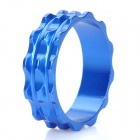 Aluminum Alloy Bicycle CNC Front Fork Washer - Blue (28.6mm)